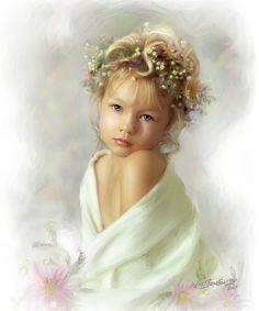 Angelic. Portrait by William Branson III.