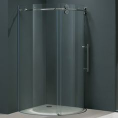Decoration Ideas, Awesome Tempered Glass Bathroom With Black Cover: Amazing Tempered Glass for Great and Strong Interior