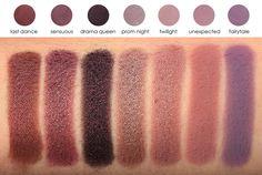 Make Up Geeks Shadows - unexpected, fairytale, twilight, aaaaall