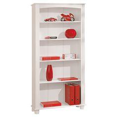 £99.99 Anke Bookcase in White  -  Wayfair H180, W87, D30cm