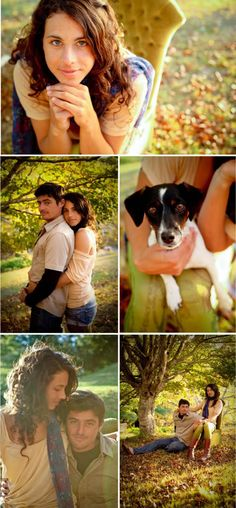 Magnolia Rouge: Fall Engagement Shoot mit Maggie? ;)
