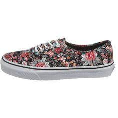 zapatos estilo vans de mujer