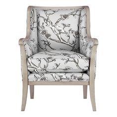 Ideas for chair re upholstery.  Crate & Barrel Carly Chair w/ Dove Frame