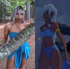 Disney Cosplay Kida Nedakh From Atlantis: The Lost Empire - Kiera Please dons a variety of outfits. For February, she's celebrating black cosplay with Cosplay Anime, Disney Cosplay, Cosplay Pokemon, Cosplay Makeup, Merida Cosplay, Avatar Cosplay, Homestuck Cosplay, Cosplay Armor, Marvel Cosplay