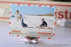 Tiny Prints Inspired Christmas Board design via landeelu