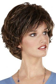 #Brown Pretty #Fashion #Cosplay Ladies #Short Hair #Wig