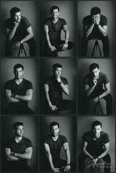 25 posing ideas for men. These 25 poses will be perfect for your next portrait photo shoot. Male Models Poses, Male Poses, Boy Poses, Men Models, Female Models, Foto Portrait, Portrait Photography Poses, Photography Ideas, Photography Accessories
