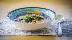 Easy to make Adzuki bean soup vegan glutenfree / Łatwa do wykonania zupa z fasolą Adzuki wegańska bezglutenowa