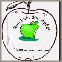 """Klick!   Die Apfelblüten sind draußen wunderbar anzusehen und eine gute Möglichkeit, das Thema """"Blüte"""" um den """"Apfel"""" zu erweitern. Ich p..."""