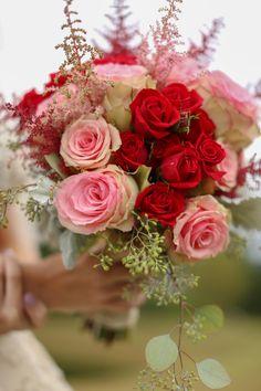 A perfect fall wedding pallet. Burgundy and pink barn wedding. Birmingham, Alabama. Blog // - Katie & Alec Photography