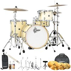 News Gretsch Drums Jazz Catalina Club(CT1-J484-WC-KIT-6) 4 Piece Drum Shell Pro Pack with Hardware & Zildjian Cymbals, White Chocolate    buy now     Too low to display The new Gretsch® Catalina Club series blends classic configurations and sound with sleek, contemporary ha... http://showbizmusic.com/gretsch-drums-jazz-catalina-clubct1-j484-wc-kit-6-4-piece-drum-shell-pro-pack-with-hardware-zildjian-cymbals-white-chocolate/