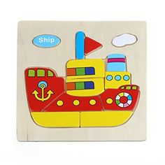 SMTSMT Wooden Ship Puzzle -- Find out more about the great product at the image link.Note:It is affiliate link to Amazon.