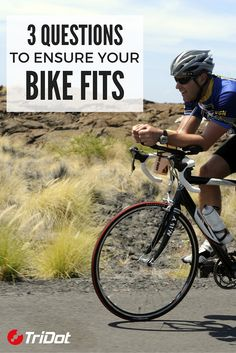 Bike fit matters. TriDot Coach Jared Milam outlines three questions you should answer to ensure a proper fit as well as balance power, efficiency and comfort. #TriDotTip #swimbikerun #triathlo