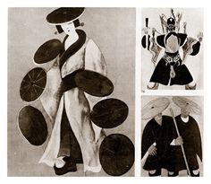"""Исаак Рабинович  """"Турандот"""". Опера Дж. Пуччини. Большой театр. Эскизы костюмов. 1931"""