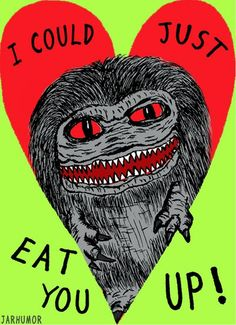 Critters Valentine by Jarhumor