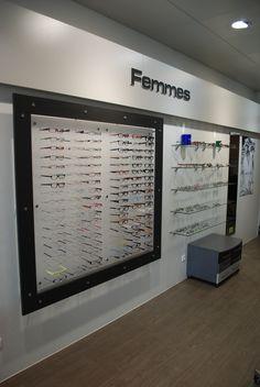 Optique | Showroom JCDA Agencement du magasin d'optique Les lunettes de Jules (33) - espace femme