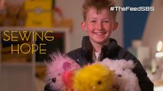 Campbell spends all his time making teddy bears for sick children - several hundred so far. Meet the kid whose passion is turning frowns upside down, Faceboo...