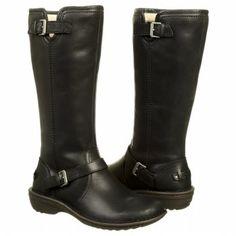 UGG Tupelo Black Leather Boots