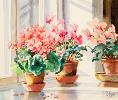 Flowers by Grand Duchess Olga Alexandrovna of Russia