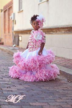 Shabby Chic Wedding Dusty Rose Flower Girls Dress