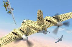 Jozef Gatial's Messerschmitt Me 329 Luft Art Images