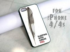 sleeping with sirens feel - design case for iphone 4,4s | shayutiaccessories - Accessories on ArtFire