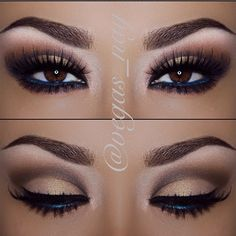 gorgeous makeup for brown eyes #makeup #style