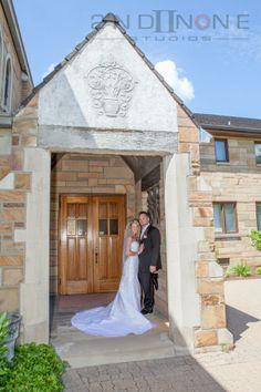 #pittsburghweddings #brideandgroom #weddingphotography, pittsburgh churches, beautiful bride and groom church photo, @2nd II None Productions