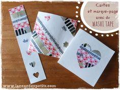 Bricolage pour la fête des mères avec du washi tape : carte et marque-page très faciles à réaliser avec des enfants dès 2 ans. #fetedesmeres #washitape #mothersday #DIY http://www.lacourdespetits.com/bricolage-fete-des-meres-washi-tape/ Merci pour le partage !