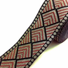 Listing for 1 yard of Phulkari pattern brocade border in as shown in the picture. This border is made of silk woven with expensive gold jari. This