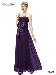 Sexy Purple Long Evening Party Dress - Ever-Pretty US