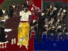 Romare Bearden, collage