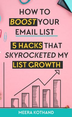 Want to grow your email list by 30-60 subscribers a day? Looking for killer tips and ideas to get more sign-ups? In this post I give you 5 simple and quick tips that helped with the growth of my list.