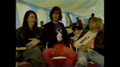 Right before Krist falls out of his chair