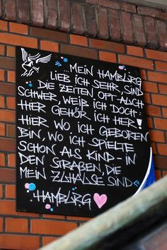 Doesn't quite apply to me, but I loved that damn city all the same! Hamburg Germany, Travel And Leisure, Day Trips, How To Apply, Advertising Agency, Vacation, How To Plan, Homeland, My Love