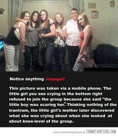 So creepy…