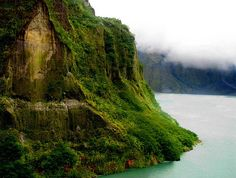Mt. Pinatubo Crater Lake, Philippines