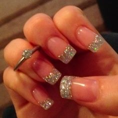 Maybe when justin finally proposes I'll get my nails done like this to show off the ring!!!