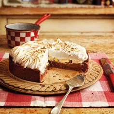 Get ready for sighs of appreciation when you serve this sensational tart. If you prefer, top with lightly whipped, sweetened cream rather than meringue.