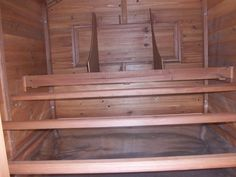 inside of coop with roosts, pull out tray and nest boxes accessible from outside Farm Restaurant, Restaurant Equipment, Nesting Boxes, Chicken Coops, Chickens Backyard, Tray, Commercial Restaurant Equipment, Coops, Trays