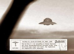 UFO Digest searches for proof of UFOs and the paranormal and publishes videos, in-depth interviews and articles on the unexplainable. Aliens And Ufos, Ancient Aliens, Ancient History, Luftwaffe, The Coming Race, Unidentified Flying Object, Ufo Sighting, Alien Sightings, The Third Reich