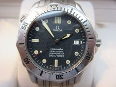 Omega Seamaster Professional Chronometer Stainless Steel Automatic Box/Papers #Omega #LuxuryDressStyles