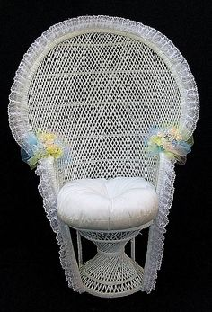 Decorating A Pea Wicker Chair Of Bridal Shower Long Island Wedding And Party 15