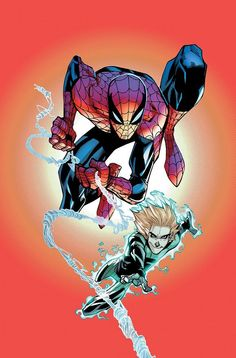 Humberto Ramos - Spider-Man and Alpha