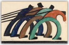 No, the artist is Sybil Andrews. Sybil Andrews, Auckland Art Gallery, Pottery Sculpture, European Paintings, Canadian Art, Picture On Wood, Australian Artists, Linocut Prints, Large Art