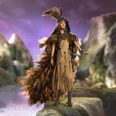 Wind Rider 2006 Barbie Doll (cgi.ebay.fr/...) - $574.99 #indian #native #american #feather #traditional #doll #barbie #ethnic #beautiful