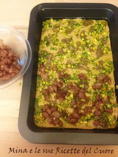 Mina e le sue Ricette del Cuore: Castagnaccio salato