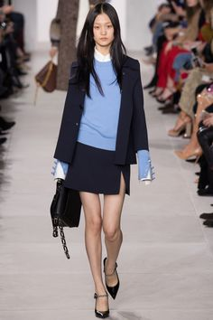 Michael Kors Collection Fall 2016 Ready-to-Wear Fashion Show - Wangy Xinyu *wrist buttons*