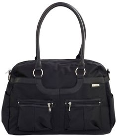 nice and simple... JJ Cole Satchel Diaper Bag - Onyx