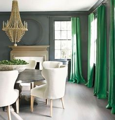 Saturday dinner out. Grey and green gorgeous dining room by Kay Douglas •via my friend @jroman1964 • • • • #art #interior #interiordesign #architecture#instadecor  #interiorinspo #interiorinspiration #interiors #style #inspo #inspiration #decor #theworldofinteriors #chandelier  #luxury #mansion #home #homedecor  #interiordesigner  #design #homedesign  #adstyle #elledecor #instagood  #interiorinspiration  #interiors #homedesign  #instadecor  #decoration #decorlovers #instaluxe #vogueliving…